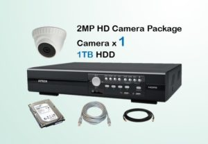 1x HD Camera CCTV Package