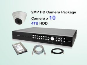 10x HD Camera CCTV Package