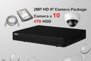 10x IP Camera Package