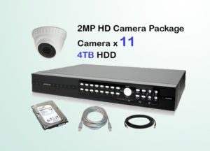 11x HD Camera CCTV Package