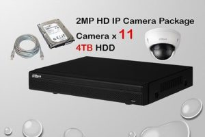11x IP Camera Package