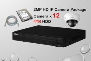 12x IP Camera Package