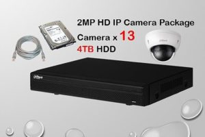 13x IP Camera Package