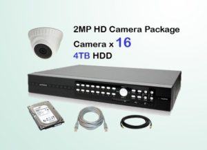 16x HD Camera CCTV Package