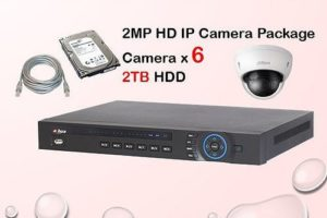 6x IP Camera Package