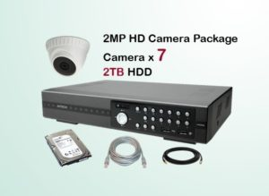 7x HD Camera CCTV Package