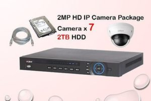 7x IP Camera Package
